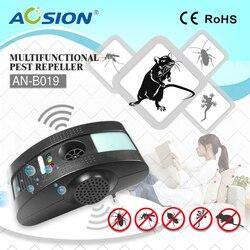 2 szt. x domowe szkodniki odrzucają fale elektromagnetyczne + Anion + ultradźwiękowy z nocnym światłem komary mysz szczury odstraszacz w Środki odstraszające od Dom i ogród na