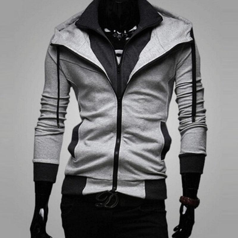 Brand 2019 Hoodie Solid Color Zipper Hoodies Men Fashion Tracksuit Male Sweatshirt Hoody Mens Purpose Tour Hoodie in Hoodies amp Sweatshirts from Men 39 s Clothing