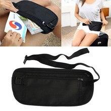 Travel Storage Waist Bags Pouch Hidden Wallet Passport Money Waist Belt Bag Slim Secret Security Useful Travel Bags Chest Packs