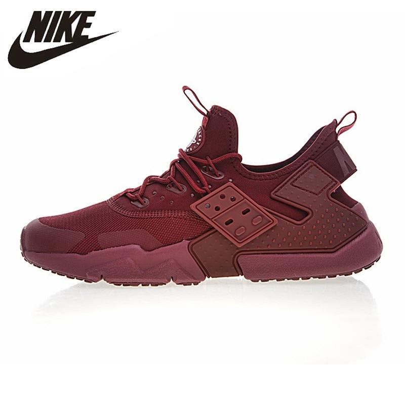 Nike AIR HUARACHE DRIFT PRM Men's Running Shoes Wear-resistant Breathable Non-slip Lightweight Sneakers AH7334-600 original new arrival 2018 nike air huarache drift prm men s running shoes sneakers