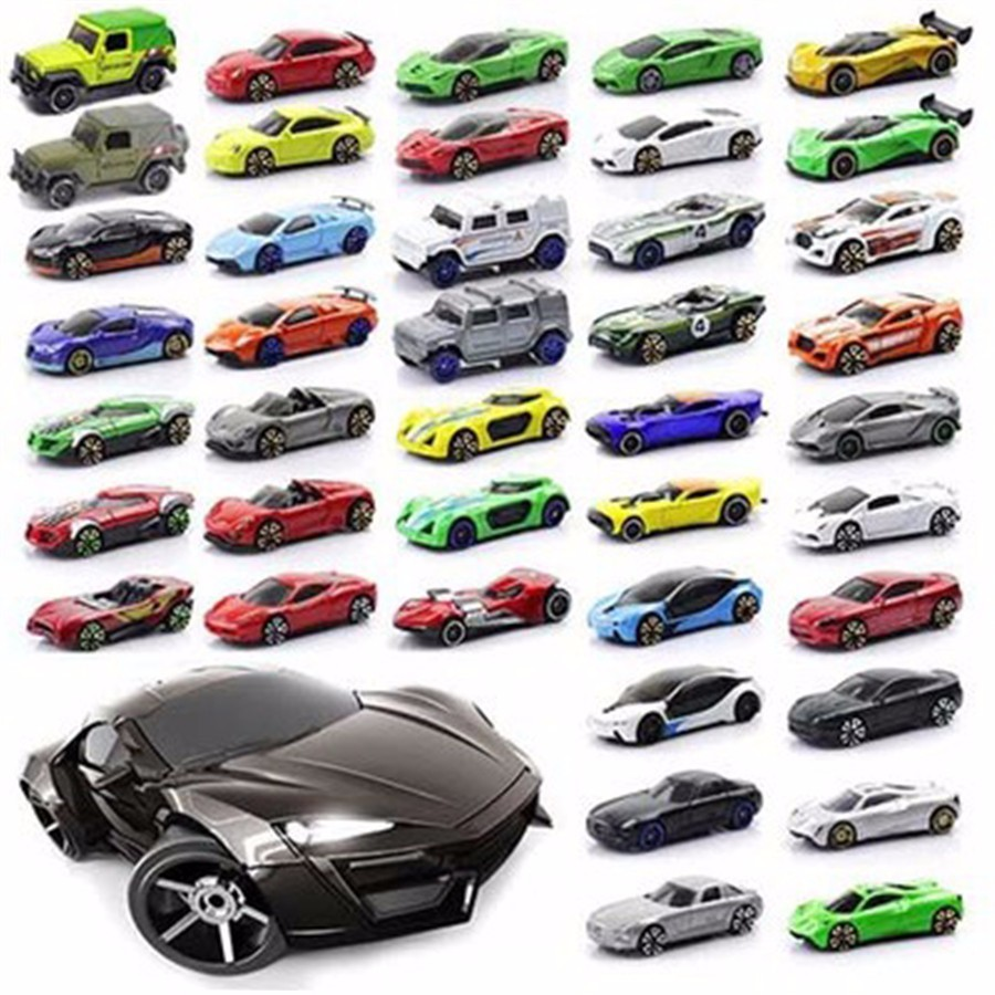 Wholesale 1:64 Mini Hot Wheels Metal Sports Car Model Toy Fast And Furious Track Auto Cars Alloy Pocket Car Toy For Children Boy