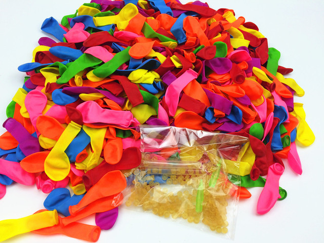 Water Balloons Refill Kit -1000 Balloons+1000 Rubber Bands+4 Tool Amazing Magic Water Balloon Bombs Toys