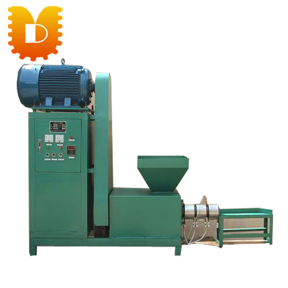 Sawdust Briquette Machine ~ Sawdust straw husk biomass charcoal briquette making