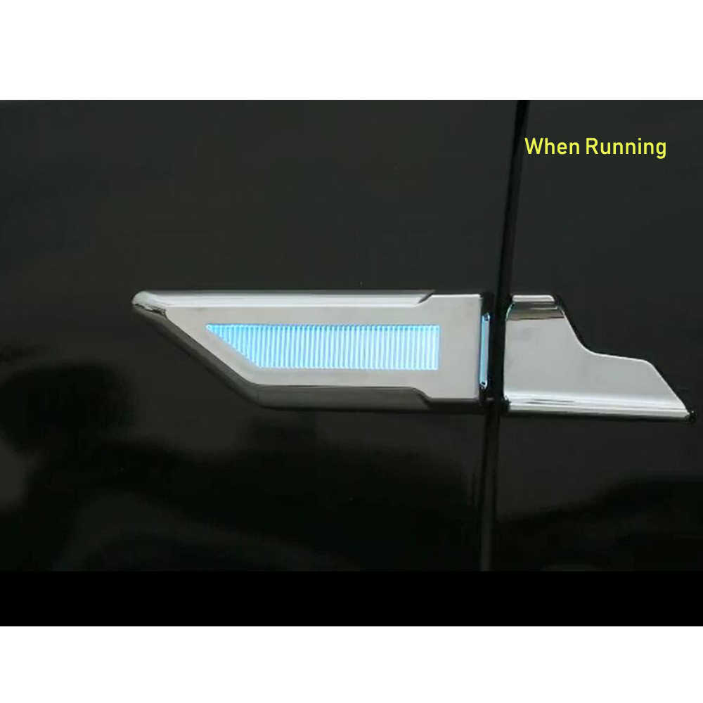 Eanop 車 led フェンダーランプ 3 in1 防水自動サイド昼間ランニングターン信号の駐車ユニバーサル車車スタイリング