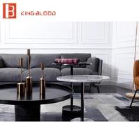 Набор мебели для гостиной круглый журнальный столик из натурального мрамора