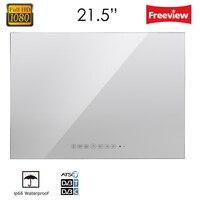 21 5inch Full HD 1080P Waterproof Vanishing Glass Mirror LED TV For Bathroom