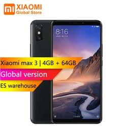 Global Version Xiaomi Mi Max 3 4GB 64GB Snapdragon 636 Octa Core 6.9