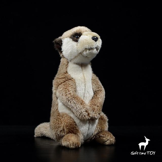 Kawaii Meerkat Doll Toys Cute Real Life Plush Meerkats Dolls Birthday Gifts Toy Store