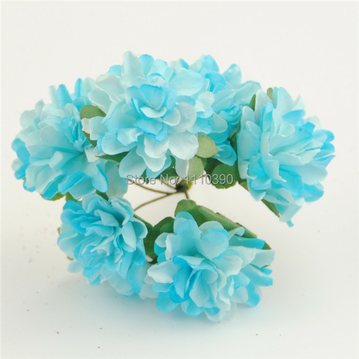 3CM fake paper daisy flowers,artificial tissue paper flower bouquets ...