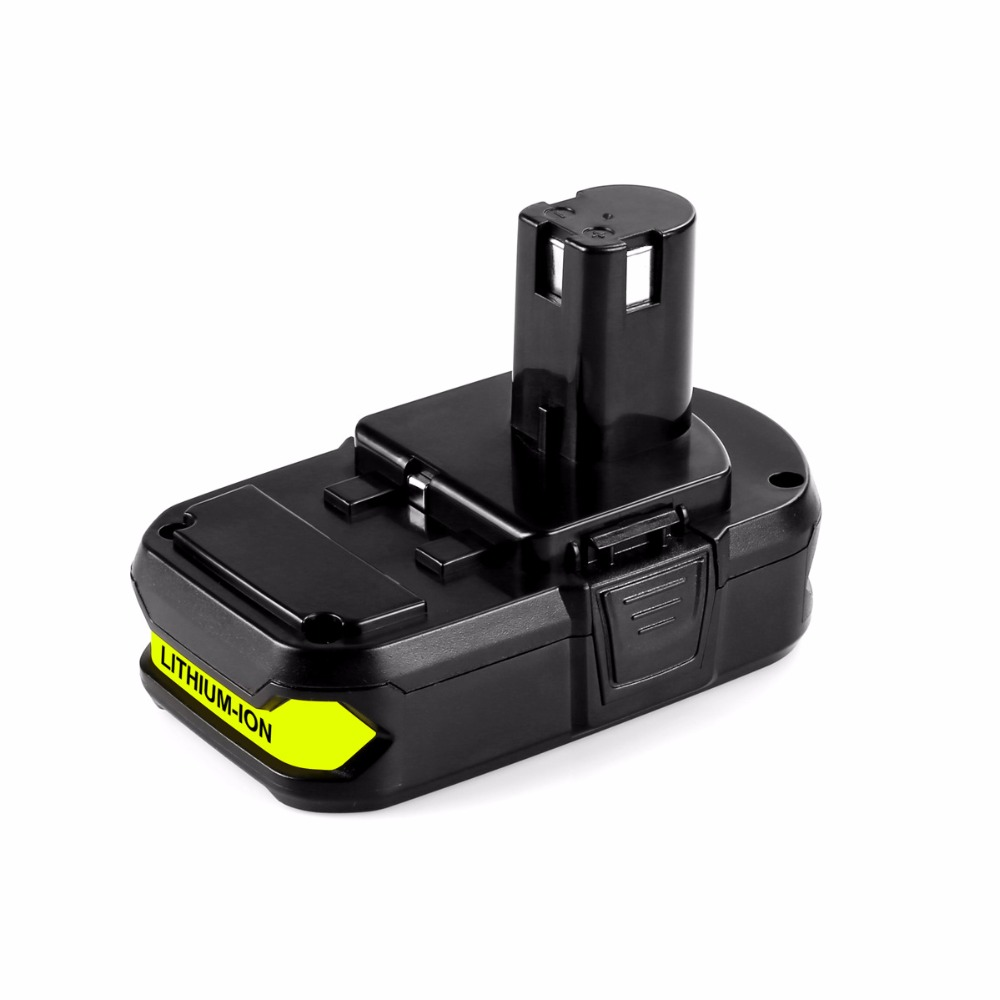 Cncool Ryobi P103 18V 2.0Ah Li ion Power Tool Rechargeable Battery Used For Drill Tools Free Shipping