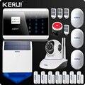 KR-8218G GSM PSTN Dual red inalámbrica de hogar sistema de alarma de seguridad Android IOS APP táctil teclado Inglés/ruso/francés español/voz