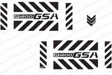 "MTKRACING Free shipping R1200 GSA Adventure Motorcycle Reflective Decal Kit ""Large Chevrons"" for Touratech Panniers"