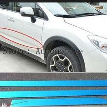 4 шт. нержавеющая сталь хромированная Боковая дверь корпус формовочная полоса крышка для Subaru XV 2012 2013