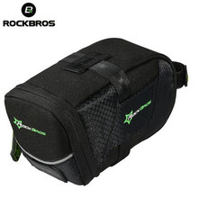 ROCKBROS Bicycle Bike Rear Top Tube Bag Waterproof MTB  Saddle Cycling Seat Tail Accessories