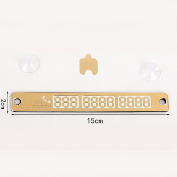 Teléfono de tarjeta de estacionamiento temporal placa tarjeta del número para Renault Kangoo DACIA escénica Megane Sandero Captur Twingo Modus