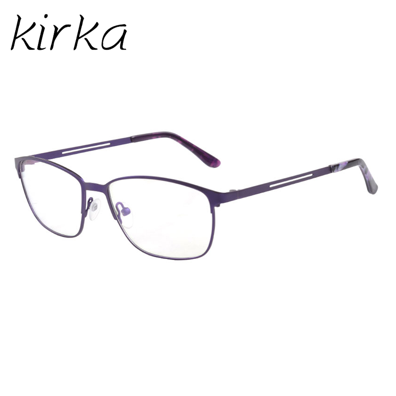 Kirka Male Metal Eyeglasses Frames Retro Men Optical Square Vintage ...