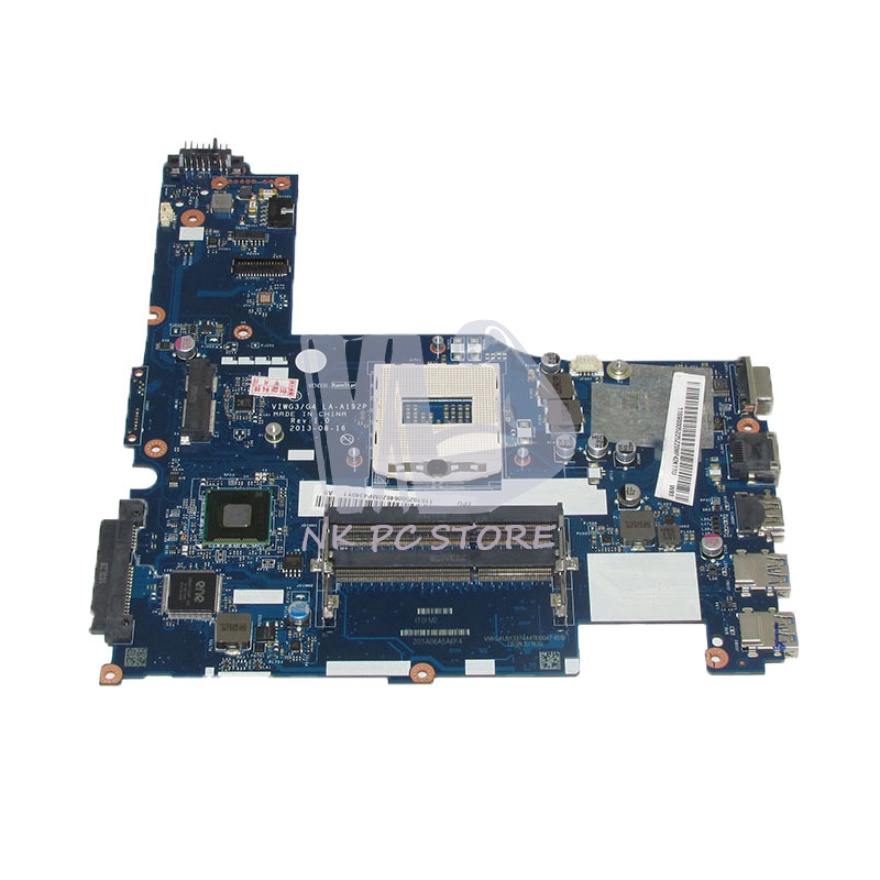 цены NOKOTION VIWG3 G4 LA-A192P 11S10250064 Main Board For Lenovo ideapad G510s Laptop Motherboard HM86 HD4400 DDR3L
