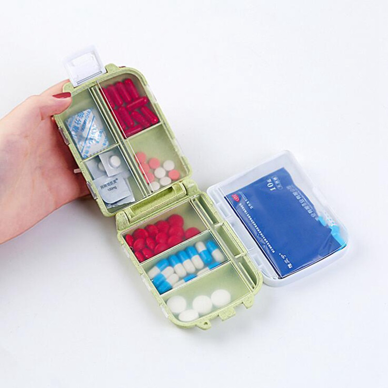 Creative Function First Aid Pill Box Outdoor Portable Distribution Travel Accessories Waterproof Medicine Bag Organizer Box