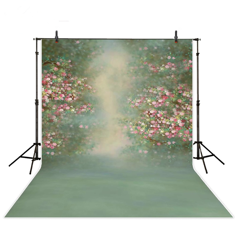 150*200cm vintage flowers baby photography backdrops green screen backgrounds for photo studio children birthday photo props 200 300cm backgrounds for photo studio photography backdrops white green the open air terrace flowers tree for wedding