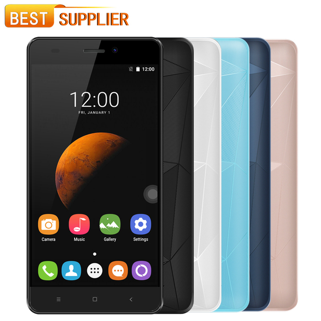 """In Stock Oukitel C3 Android 6.0 MTK6580 Quad Core Smartphone 1GB RAM 8GB ROM 5.0"""" HD Screen 3G WCDMA Mobile Phone"""