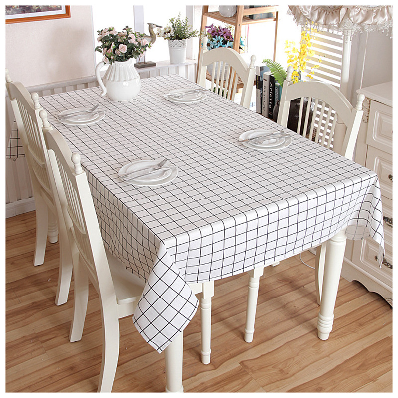 Pleasant 2019 New Lattice Party Table Cover Cloth Tablecloth Yarn Beatyapartments Chair Design Images Beatyapartmentscom
