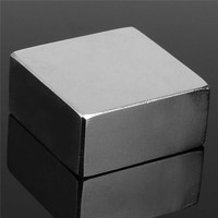 1PC N50 Neodymium Magnet Strong Magnet Rare Earth Magnets Block 50 X 50 X 25mm Newest