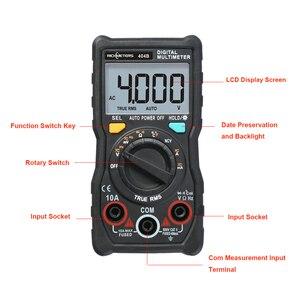 Image 3 - RM404B Cầm Tay Kỹ Thuật Số Vạn Năng Đa Chức Năng Mini Đa esr meter AC/DC Điện Áp Transistor Tester Ampe Kế Cảm Biến Nhiệt Độ