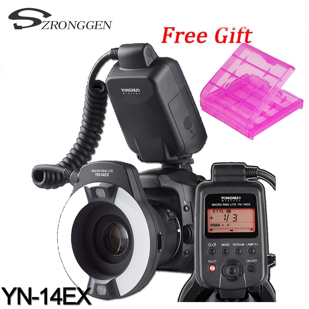 Ring light Yongnuo YN 14EX TTL Macro Ring Lite Flash Speedlite Light for Canon 5D Mark
