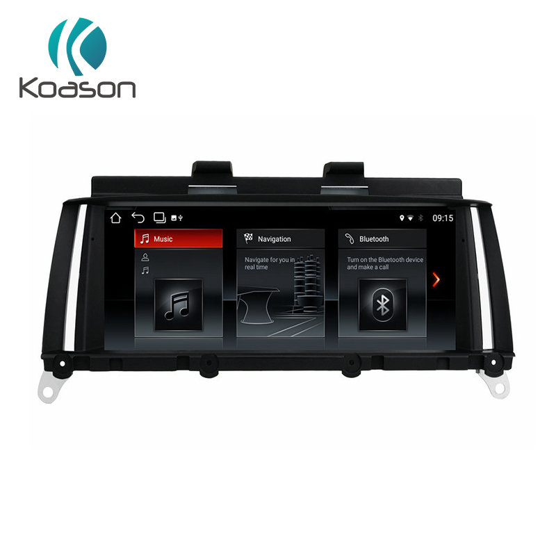 Koason Android 8,1 Автомобильное видео стерео Мультимедийный плеер Авто видео для BMW X3 F25 X4 F26 2013 2017 НБТ автомобиля gps навигации