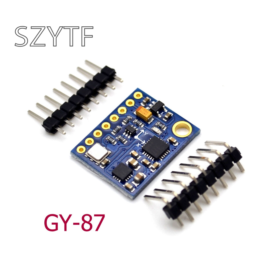 GY-87 10DOF MPU6050 HMC5883L BMP180 GY87 GY-87 10DOFGY-87 10DOF MPU6050 HMC5883L BMP180 GY87 GY-87 10DOF