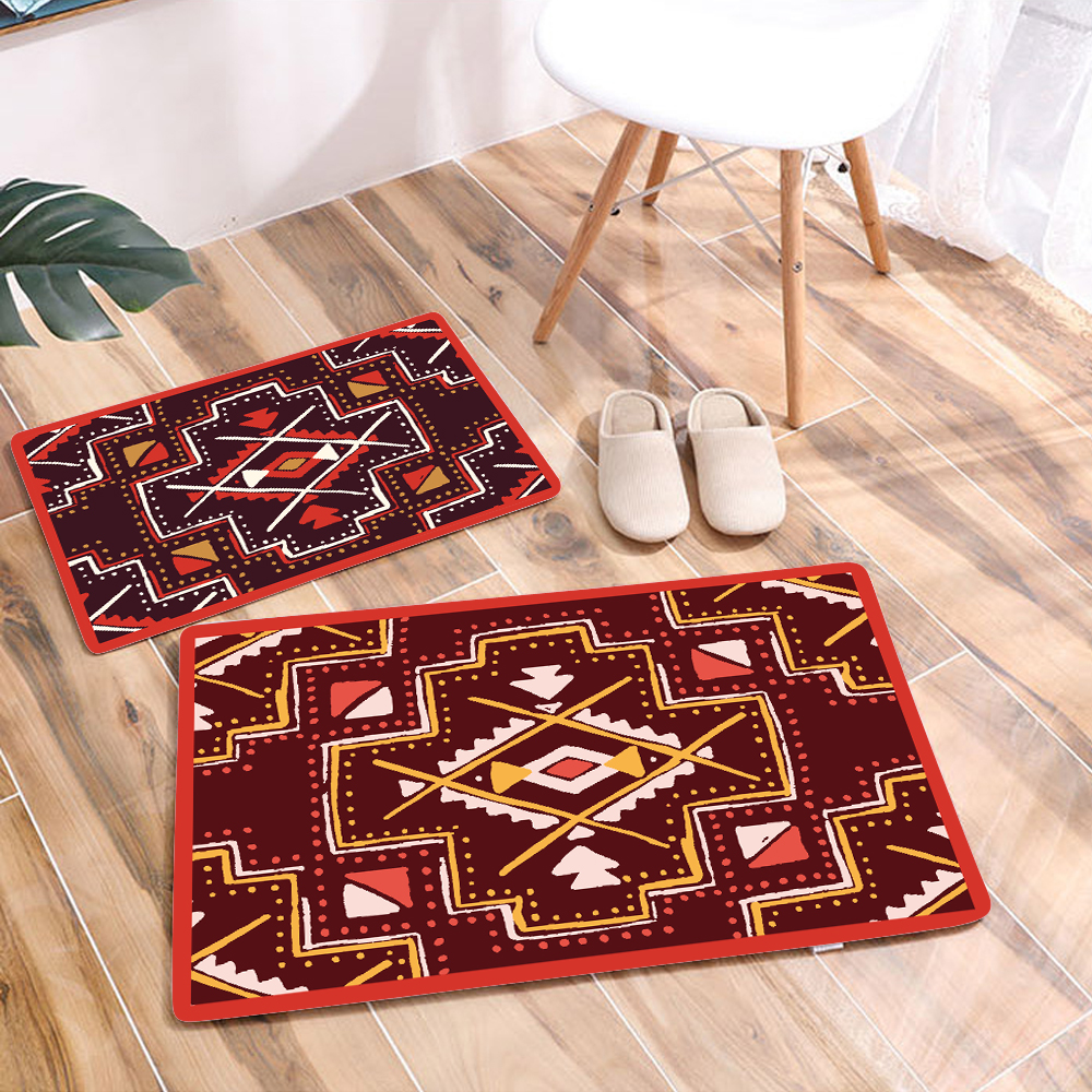 Image 2 - Creative Entrance Mats Non slip Door Mat Carpet Outdoor Welcome Pad Soft Rug Doormat Indoor Bathroom Kitchen Carpet Floor Mat-in Mat from Home & Garden