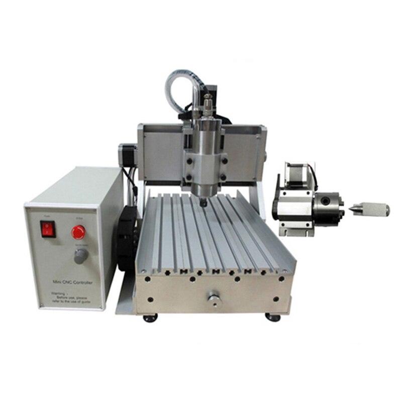 LY CNC 3020 Z-VFD 800 W Mini gravure sur bois routeur fraiseuse pour le travail du bois PCB sculpture