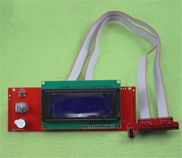 5pcs3D Printer Kit Smart Parts RAMPS 1 4 Controller Control Panel LCD 2004 Module Display Monitor