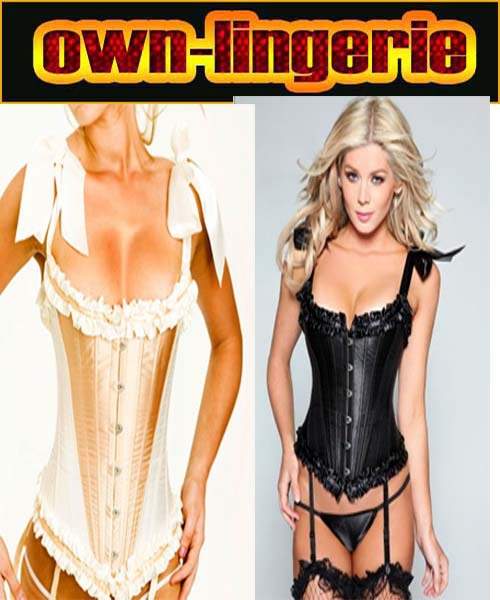 steel boned corser with boning plus size   bustier     corset   w3008