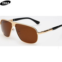 Wrap Around Polarised Sunglasses For Men Trendy Wayfarer Sunglasses Polarized Safety Glasses Flat Top Copper Alloy