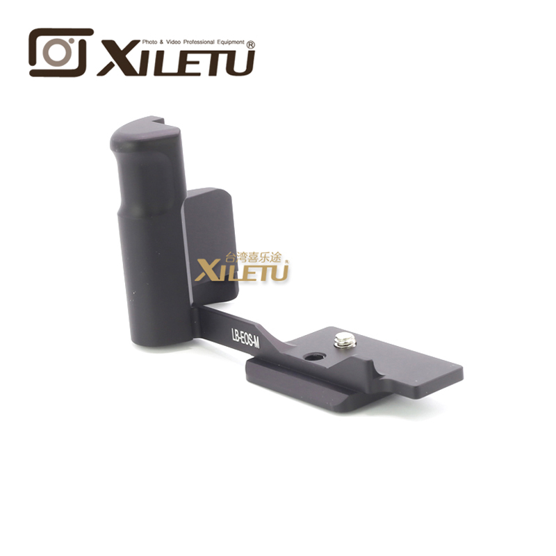 Free Shipping Xiletu LB-EOSM Professional Quick Release Plate Tripod Bracket For Canon EOS-M1 M2 M3 Interface 38mm Arca Swiss