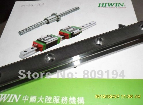 750mm  linear guide rail   HGR25  HIWIN  from  Taiwan free shipping to france hiwin from taiwan linear guide rail