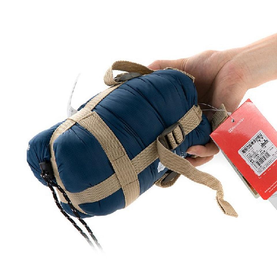 Открытый сращивание спальный мешок ультралегкий взрослых портативный отдых туризм сумки для 5-25C Naturehike спальные мешки весна осень спальник туристический спальный мешок взрослый мешок спальный туризм