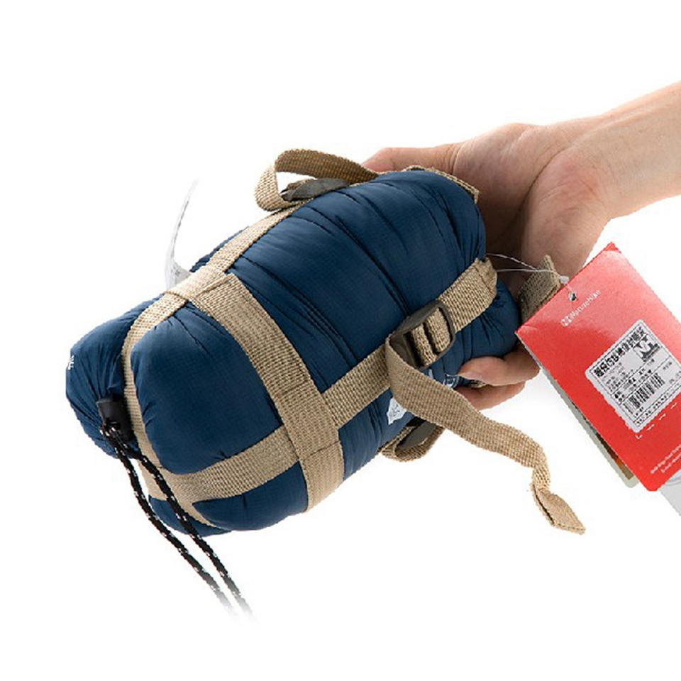 Naturehike Épissure Enveloppe Sac de Couchage Ultra-Léger Portable Adulte sac de Couchage De Camping en Plein Air Sacs Printemps Automne 1.9*0.75m