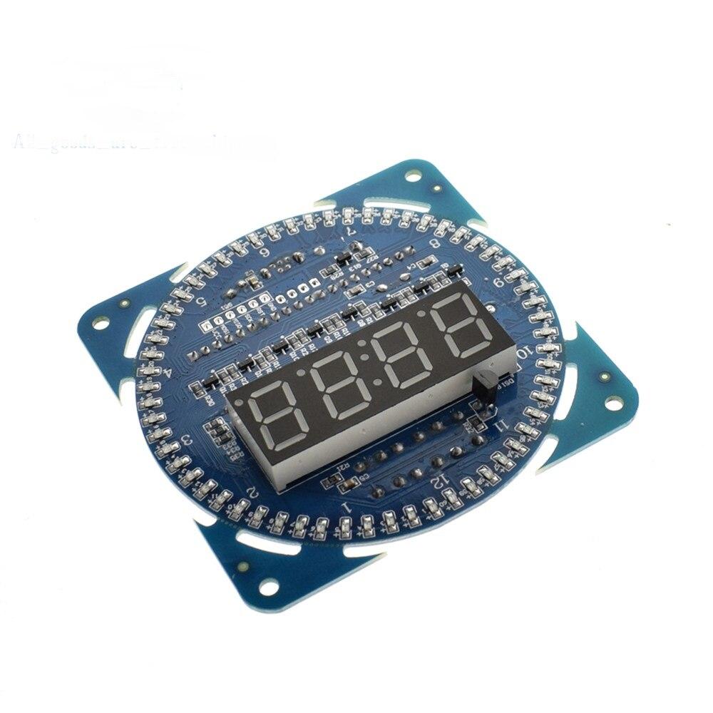 1PCS LED Electronic Digital Clock module DS1302 Rotation LED Display 51 SCM Lear