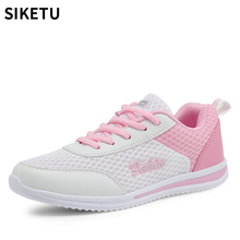 Woman Breathable Mesh Shoes 2018 Summer Sneakers Women New Arrivals Fashion for Casual Plat shoes