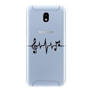 Для Samsung Galaxy J2 J5 J7 Prime J4 J6 J8 Plus 2018 чехол для телефона силиконовая музыкальная задняя крышка для Samsung J3 J5 J7 2015 2016 2017