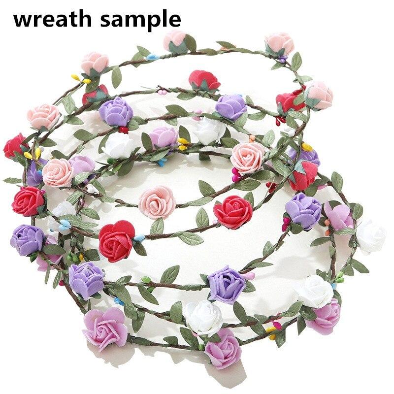 144 unids Mini Foam Rose flores artificiales decoración del hogar - Para fiestas y celebraciones - foto 2