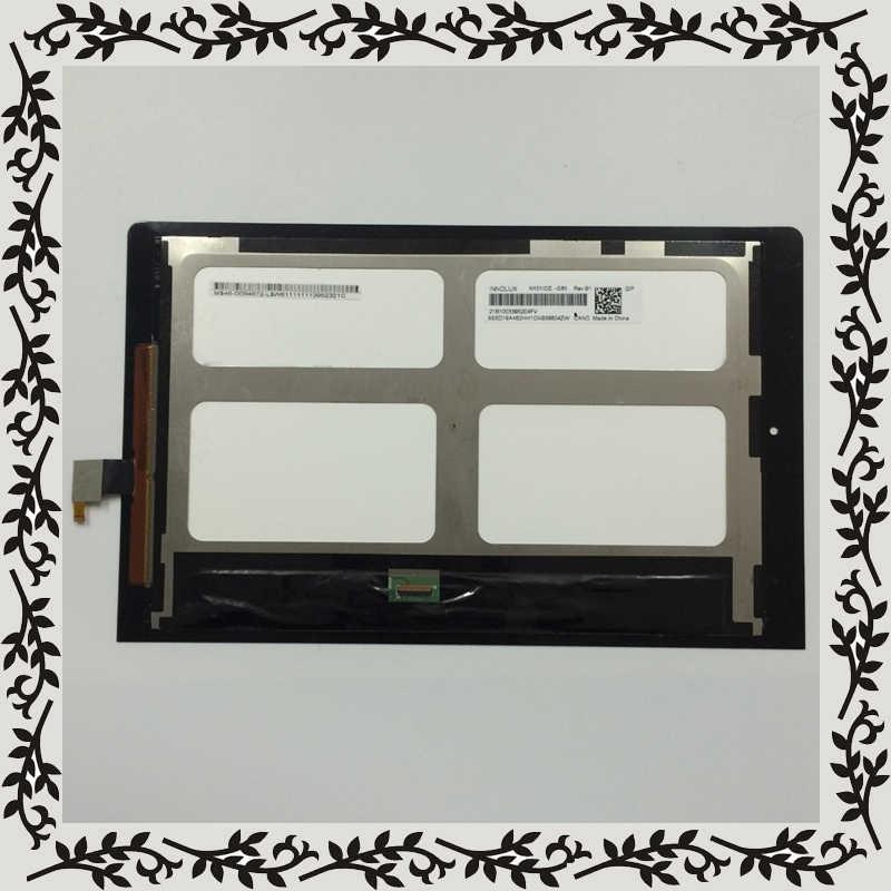 Negro para Lenovo Yoga 10 B8000 B8000-H 60047 LCD Monitor de pantalla + pantalla táctil digitalizador de Panel de vidrio de la Asamblea