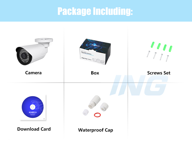 Image 5 - H.265 POE Waterproof 3MP 1296P / 1080P Outdoor IP Camera IR LED Bullet Security Night CCTV Video Surveillance HD Cam System-in Surveillance Cameras from Security & Protection