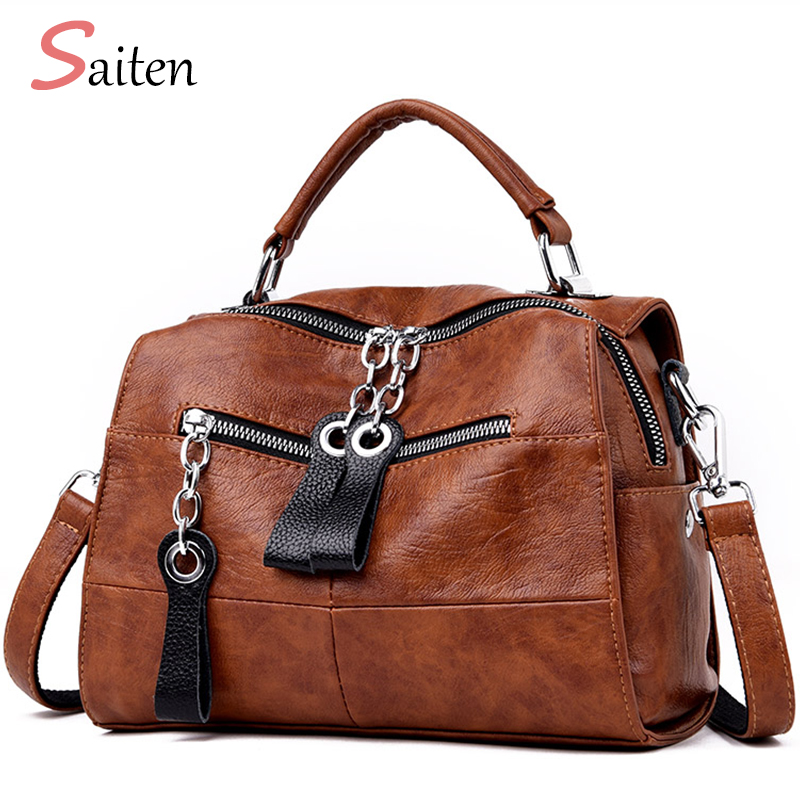 Fashion Leather Women's Handbags Casual Backbag Multifunction Bagpack Female Shoulder Bag High Quality Messenger Bag Bolsa Mujer