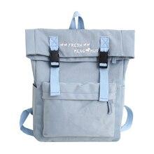 Купить с кэшбэком 2018 Hot Sale Women For Teenagers Female  Bowknot Shoulder Backpack Mochilas Backpack Nylon Travel Bags Girls Preppy School Bags