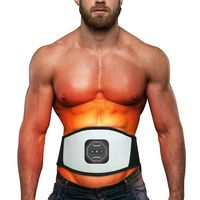 Electric Body Waist Belly Slimming Sauna Tummy Belt Fat Burner Muscle Trainer Quick Weight Loss Exerciser Training Device