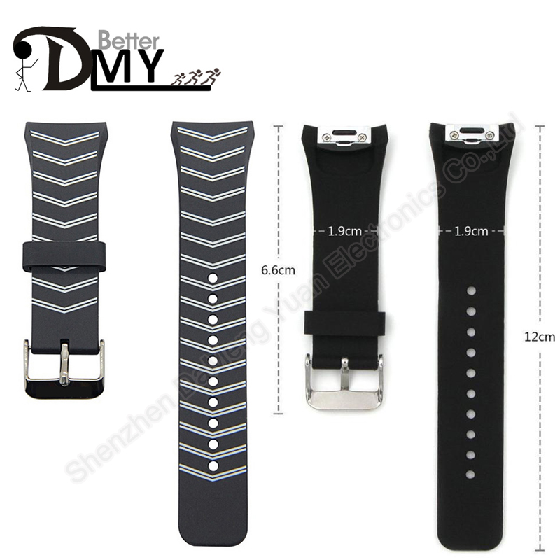 DMY New Luxury Silicone Watch Band Strap Watchband For Samsung Galaxy Gear S2 SM-R720 Free Shipping