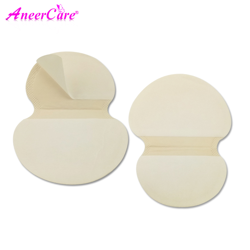 Deodorant Absorbing Pads Anti-Perspiration Disposable 100pcs for Armpit-Sweat-Pads Underarm